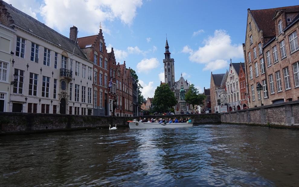 Bruges barco