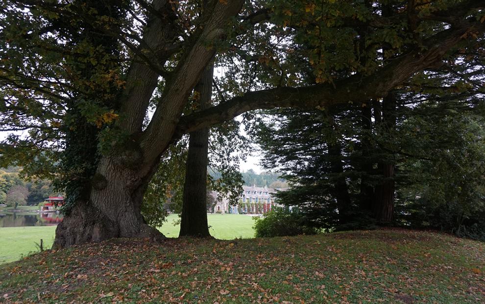 Abbaye de Cernay parque1