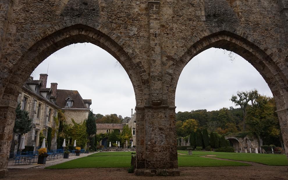 Abbaye de Cernay vestigios