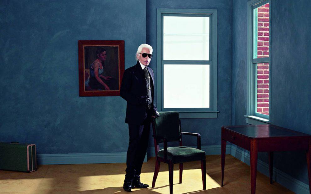 Karl Autoportrait-New-York