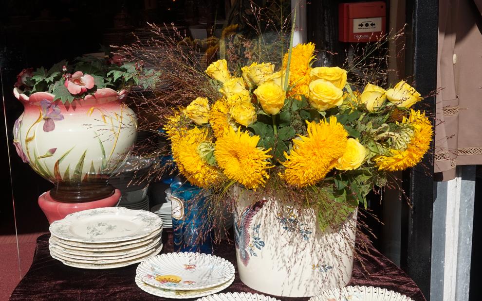 Mercado das Pulgas flores