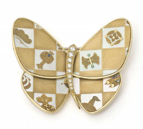 Van Cleef & Arpels_clip papillon