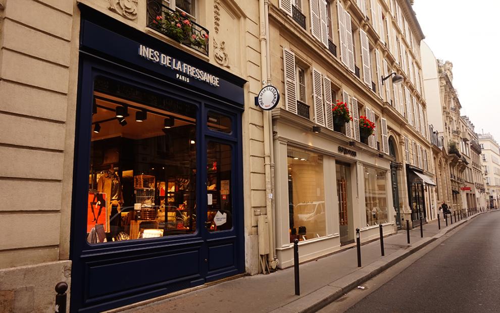 ines de la fressange_rue de grenelle