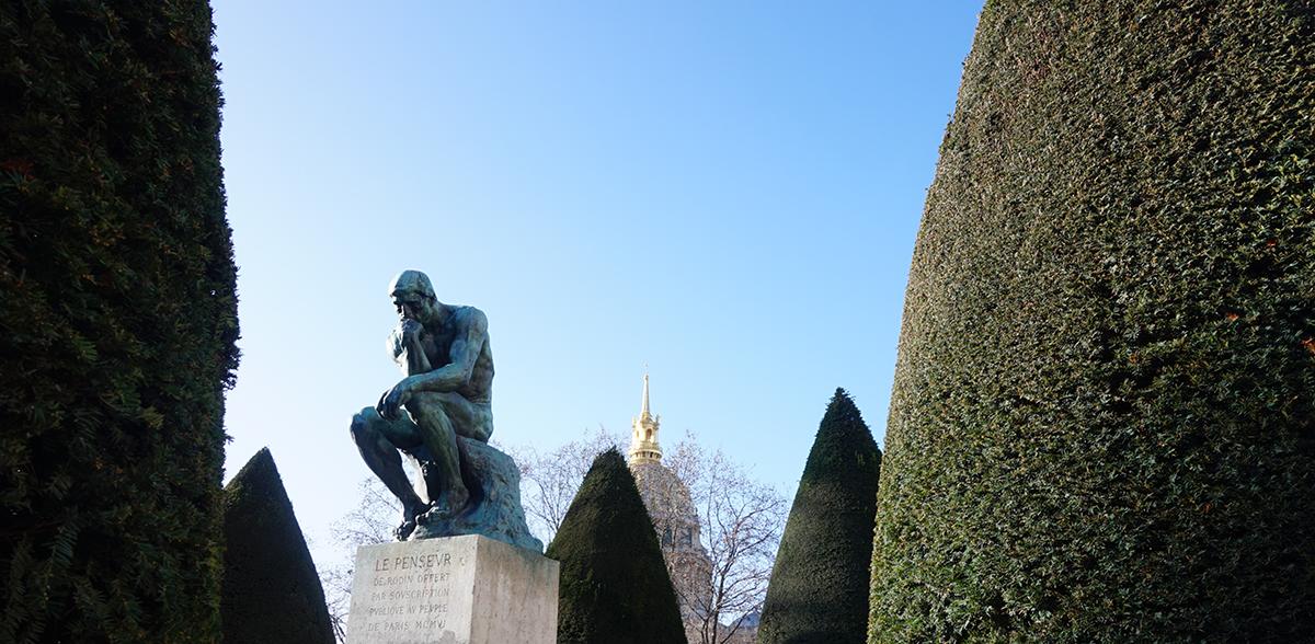 Museu Rodin O Pensador