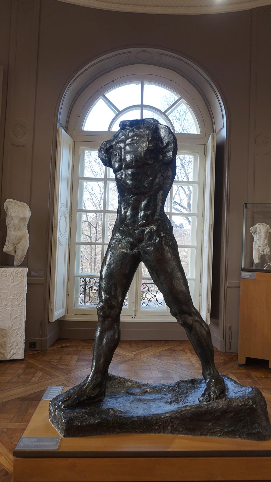 Museu Rodin O homem em marcha