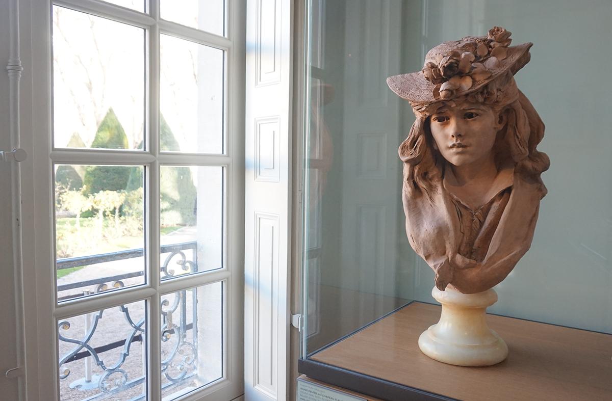 Museu Rodin busto jeune fille