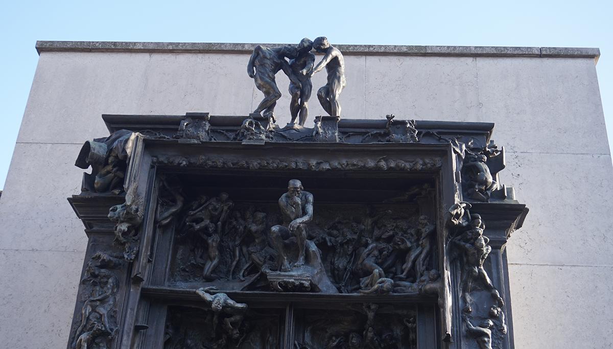 Museu Rodin detalhe A Porta do Inferno