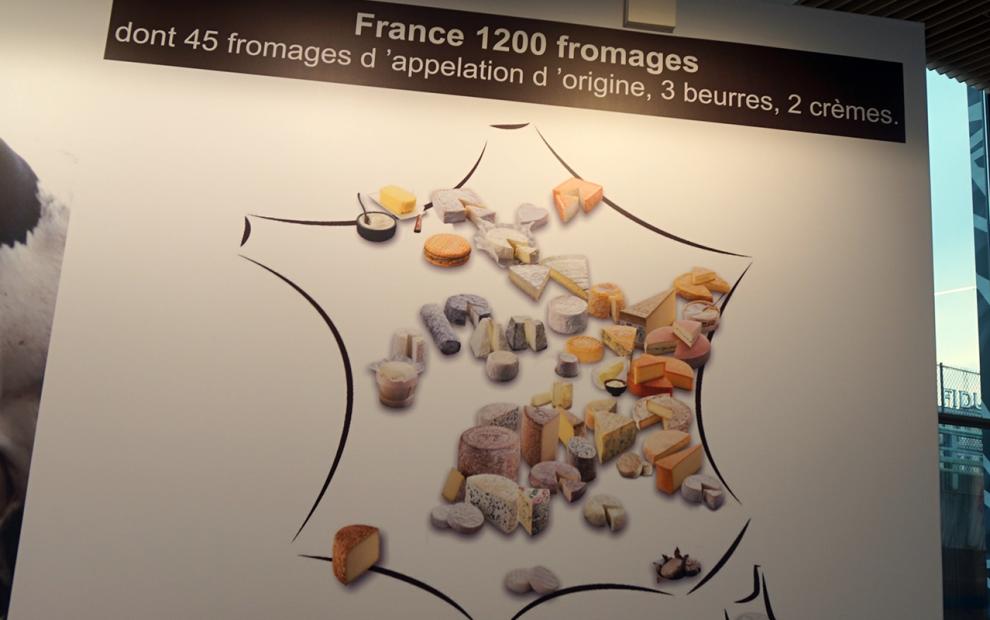 Salao da agricultura queijos