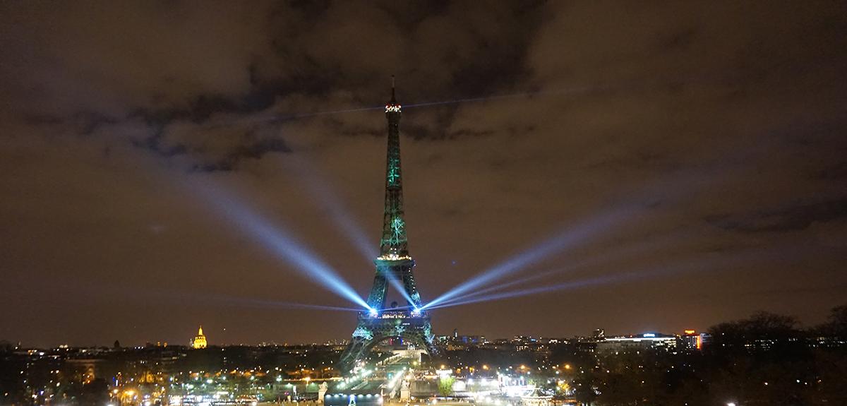 Torre Eiffel COP 21
