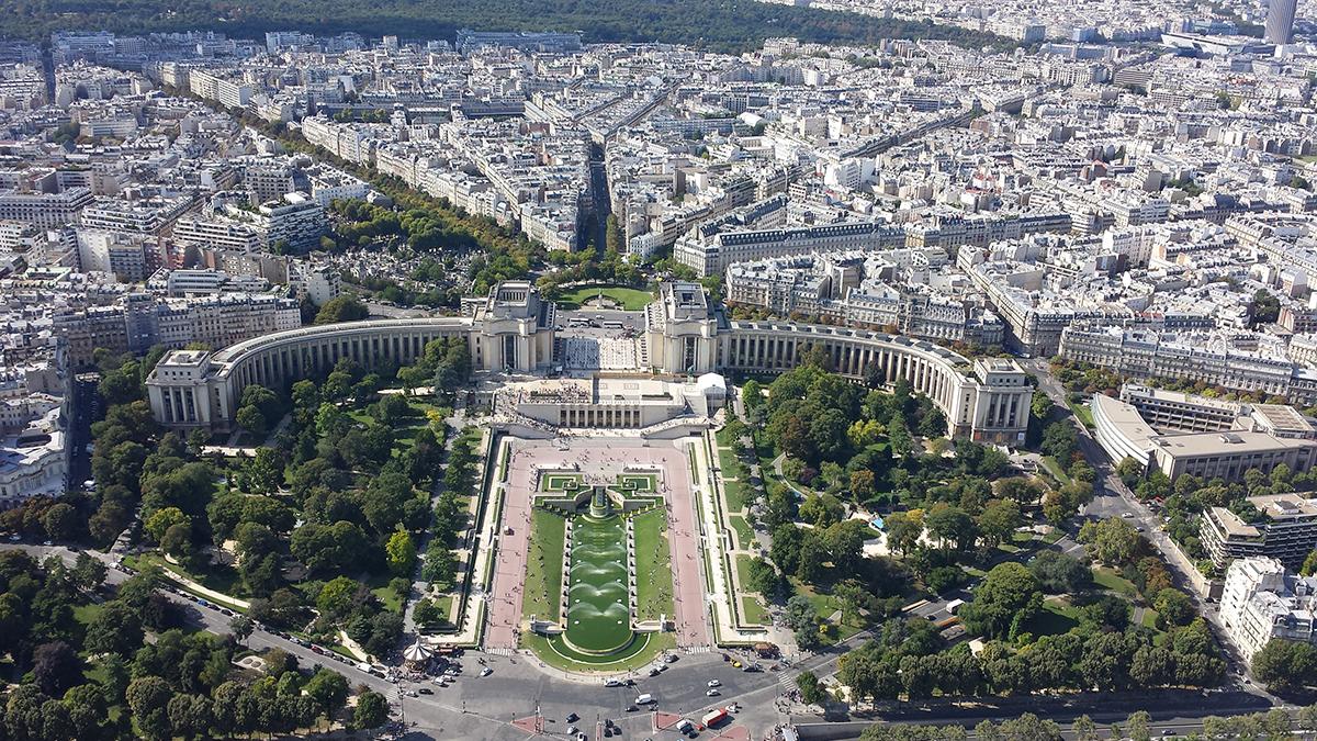 Torre Eiffel vista Trocadero
