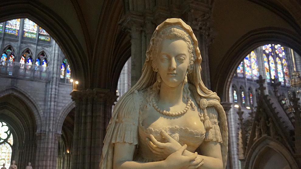 Basilica-Saint-Denis-detalhe-Maria-Antonieta