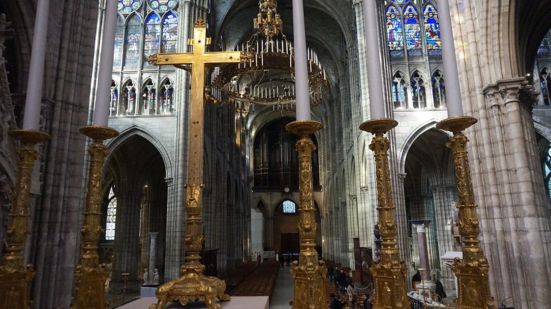 Basilica-Saint-Denis-gotica