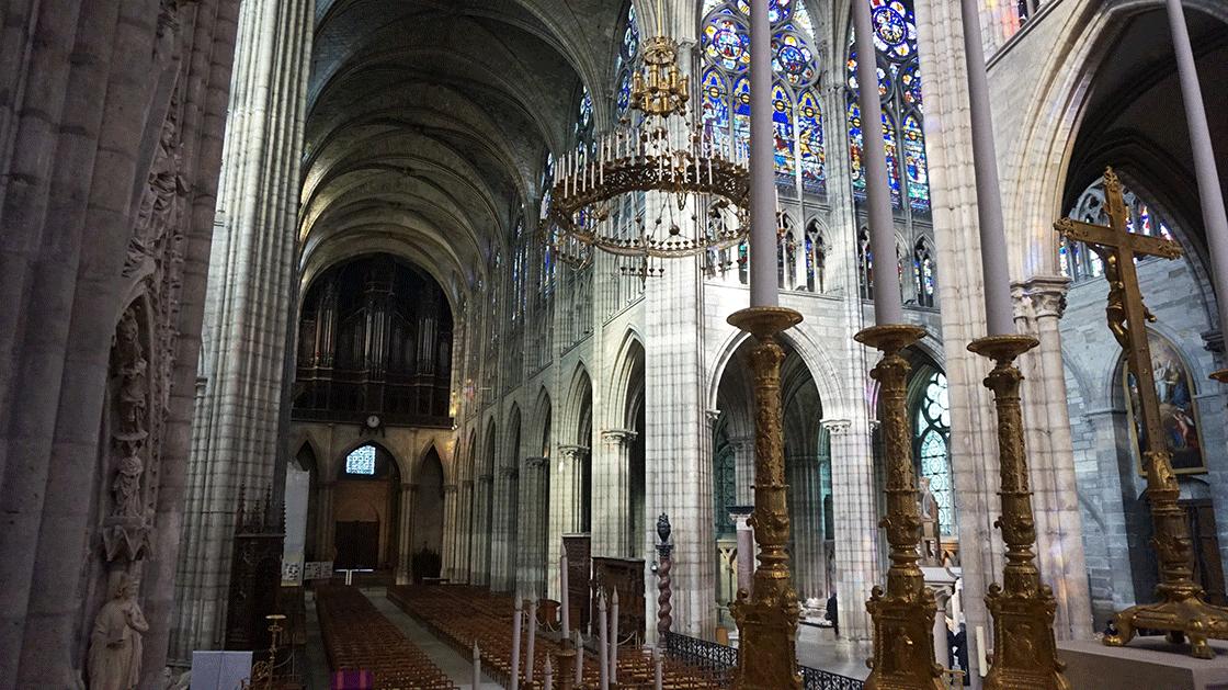 Basilica-Saint-Denis-nave