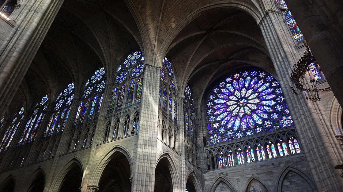 Basilica-Saint-Denis-vitrais