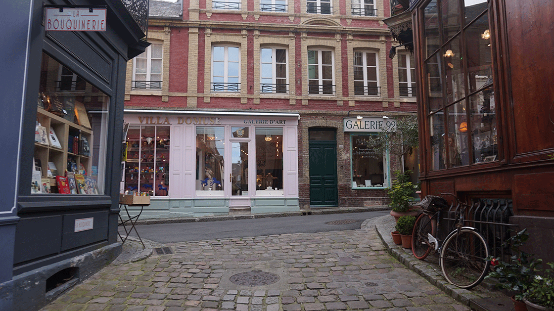 Honfleur-galerias