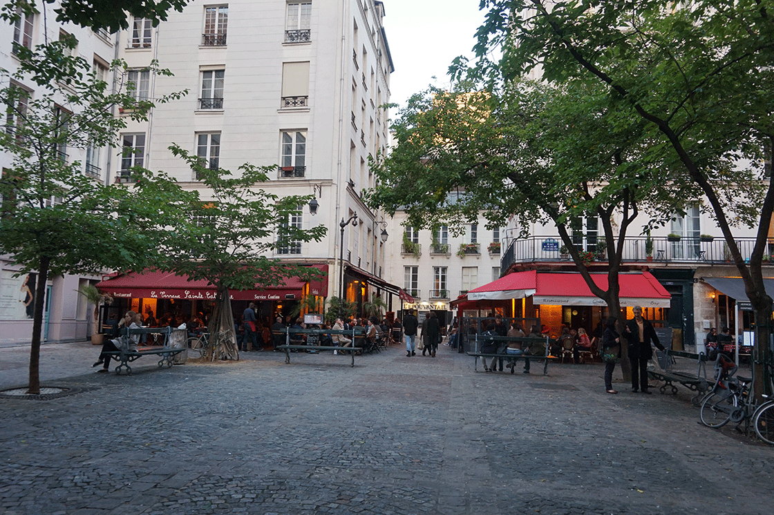 Marais-Place-Sainte-Catherine