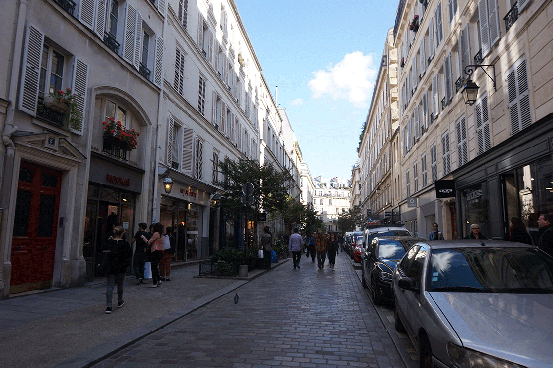 Marais-rue-rosiers