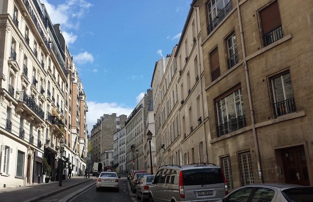 Montmartre-ruas