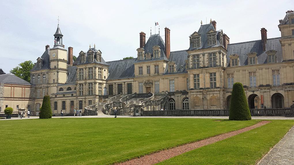 Fontainebleau-escada