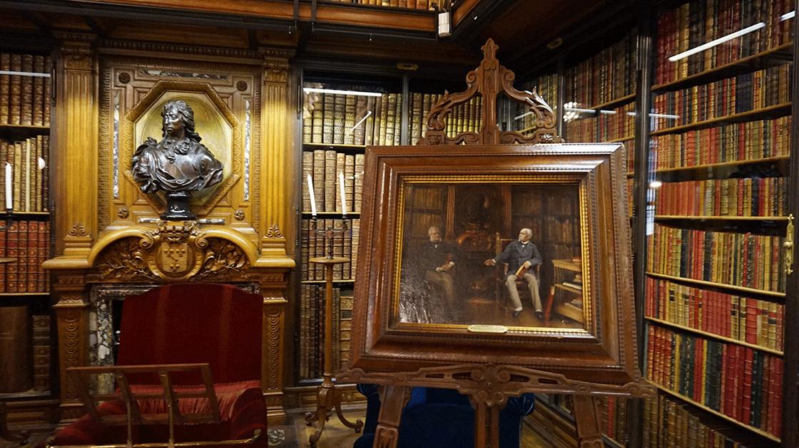 chantilly-biblioteca