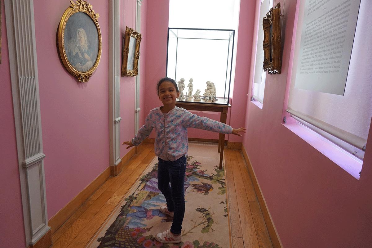 As crianças adoram os museus de Paris