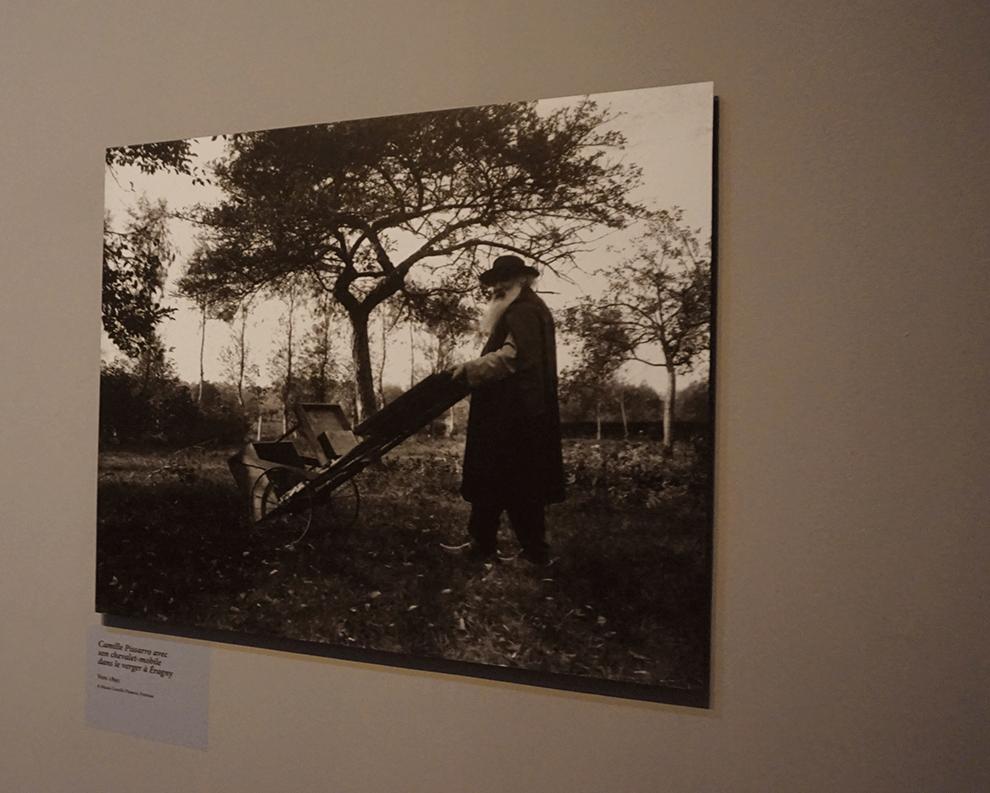 O pintor Camille Pissarro era um grande amigo de Monet