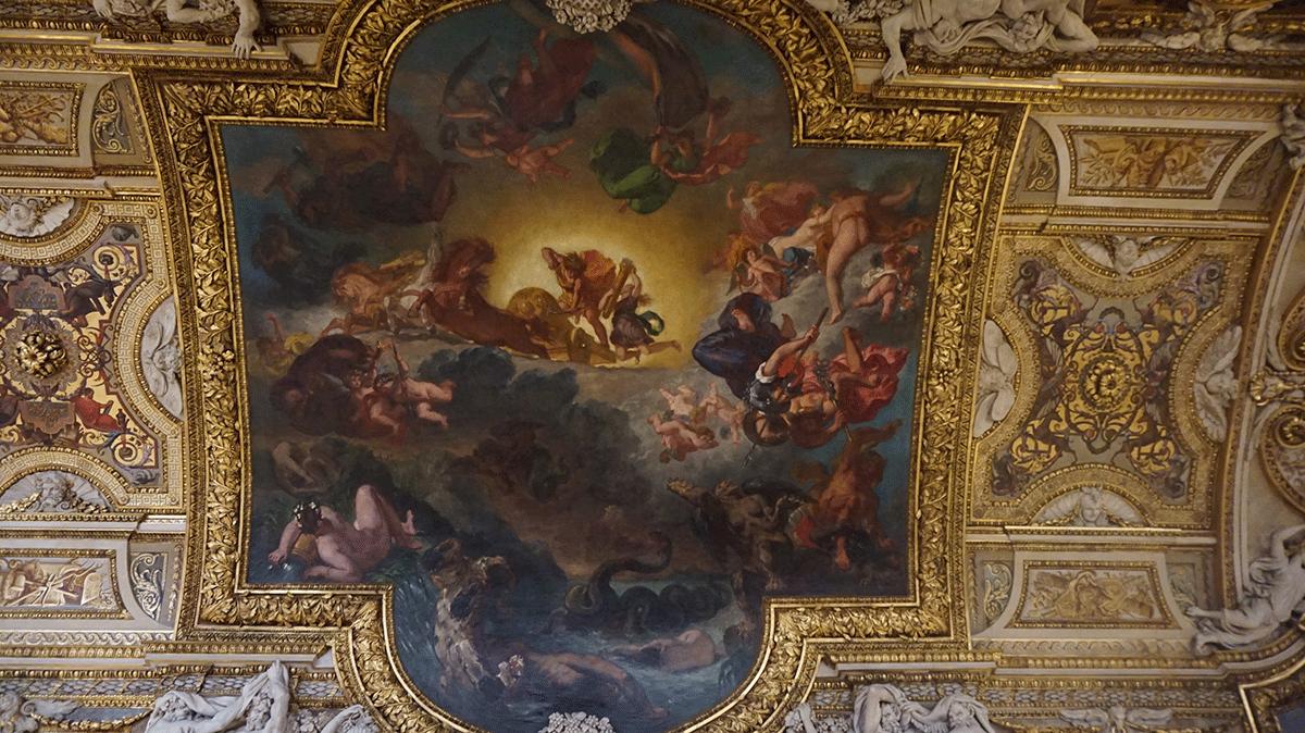 Pintura de Delacroix