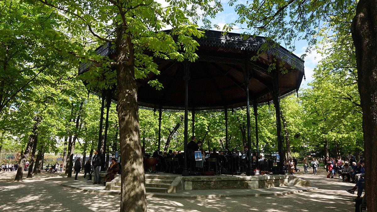 Concertos ao ar livre acontecem no Jardim de Luxemburgo em Paris