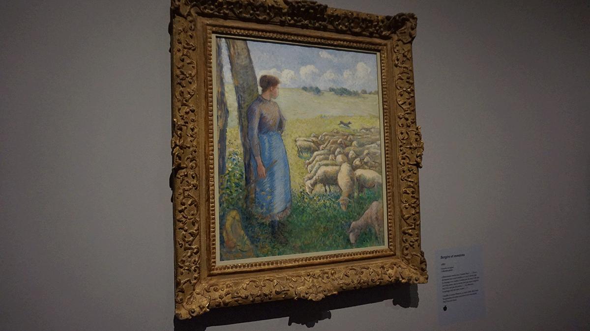 A vida no campo nos arredores de Paris foi retratada por Pissarro