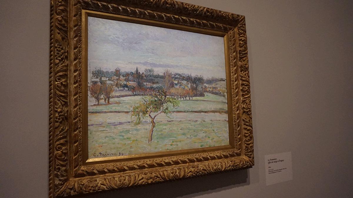 A natureza é tema da exposição de Pissarro no Museu do Luxemburgo