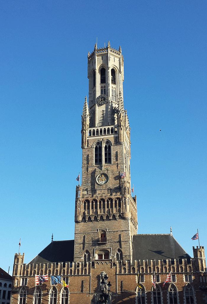 Campanário de Bruges, sίmbolo da cidade
