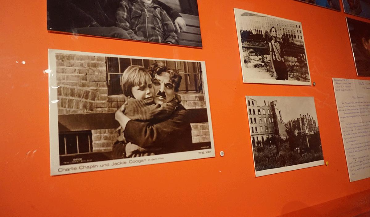 Charles Chaplin na Cinemateca francesa