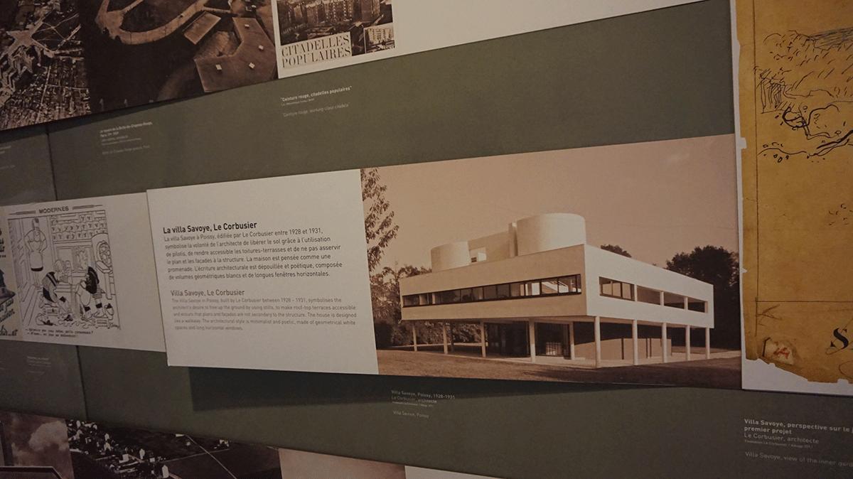 Villa Savoia do Le Corbusier nos arredores de Paris
