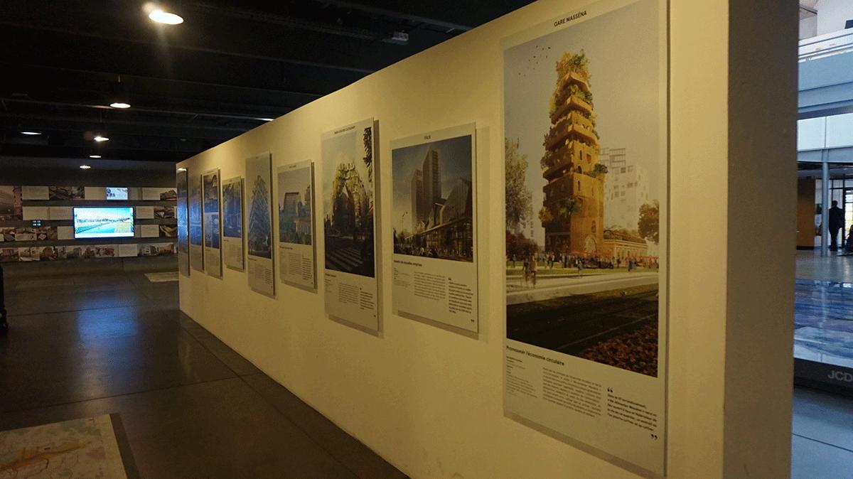 Centro de informação para arquitetos e urbanistas em Paris