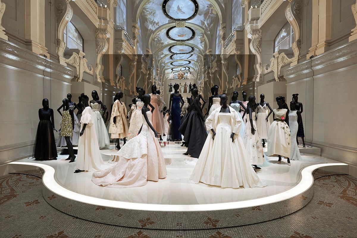 Baile Dior cenografia exposição