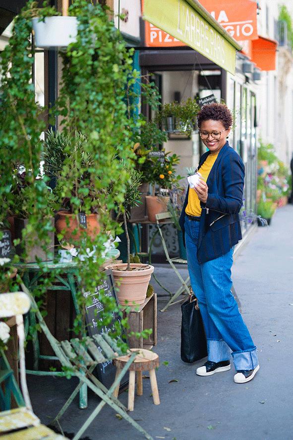 Edis Lima floriculturas de Paris