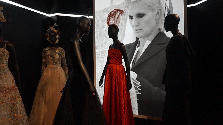 Maria Grazia Chiuri na Dior
