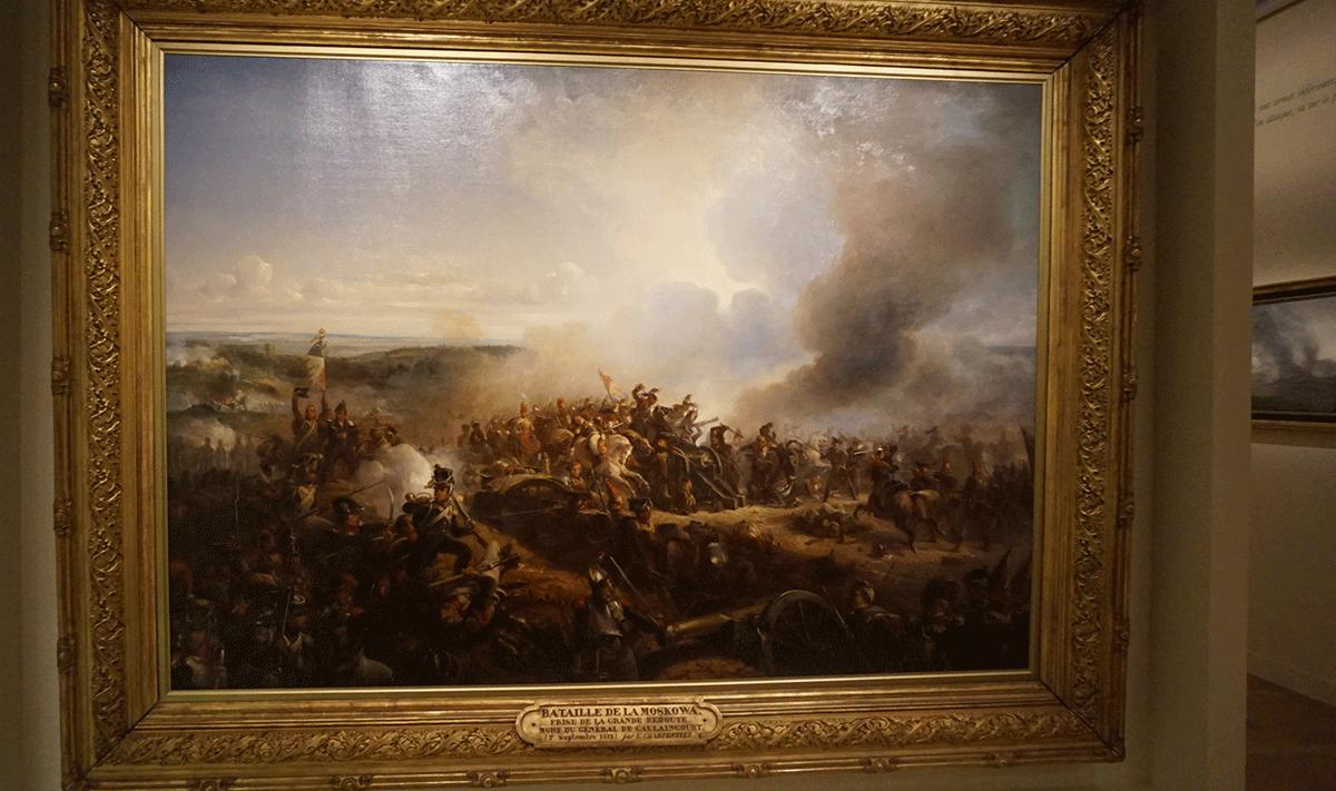 As batalhs vitoriosas de Napoleão