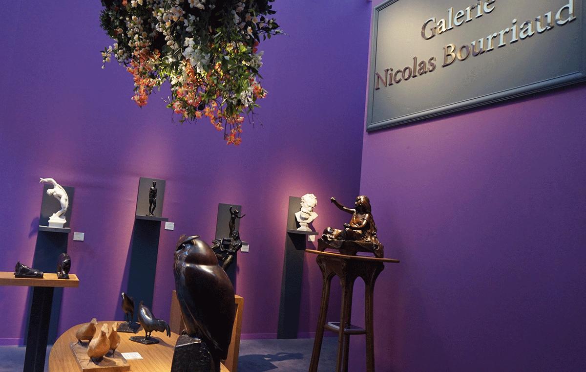 Galerias de arte na Bienal Paris