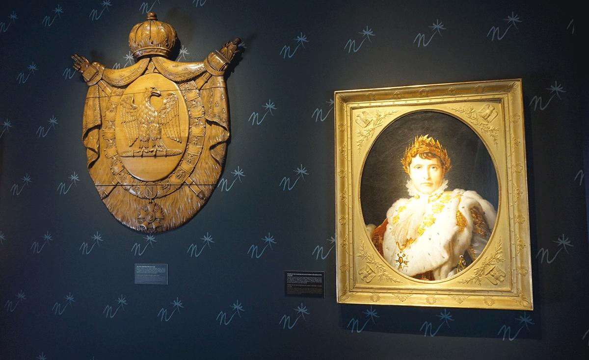 Exposição Napoleão na Bienal Paris