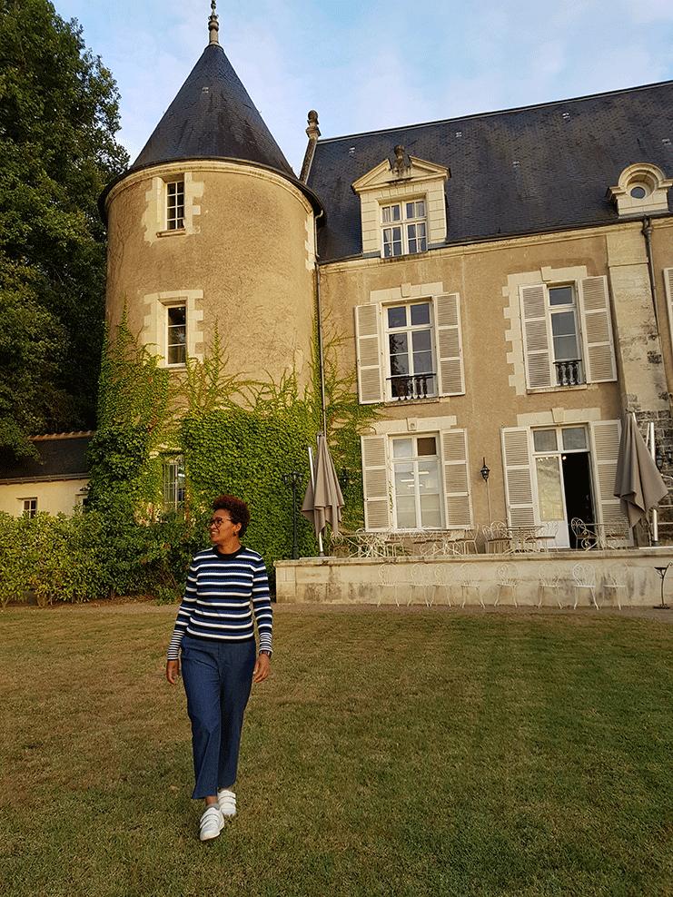 Edis Lima nos castelos do Vale do Loire