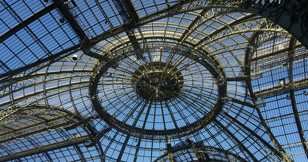 Grand Palais na Exposição Universal de 1900 de Paris