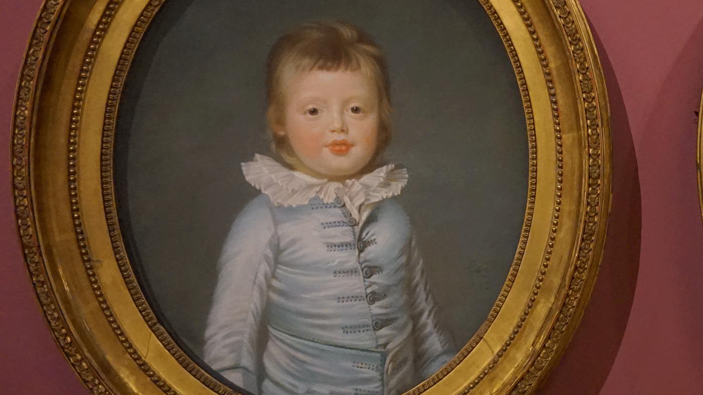 Exposiçao pintura pastel no Louvre