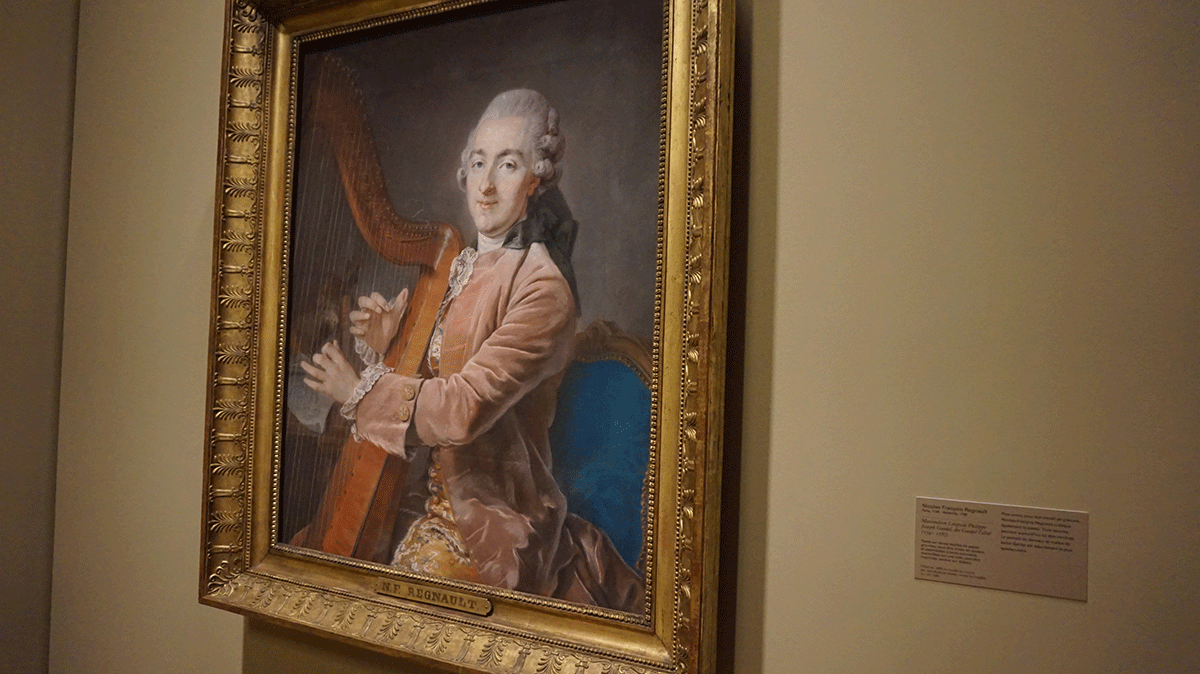 Exposição pintura pastel Louvre