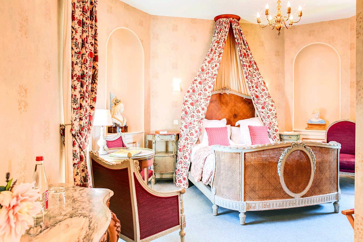 Castelos de hospedagem no Vale do Loire Amboise