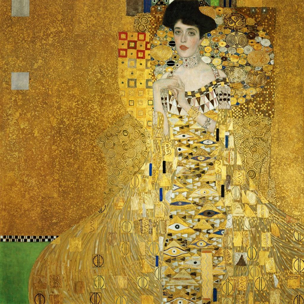Artista vienense Gustav Klimt Paris