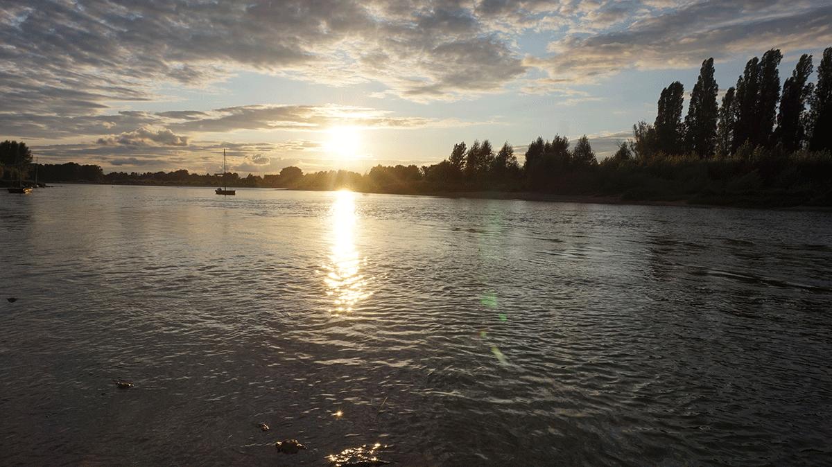 rio Loire, o maior rio da França