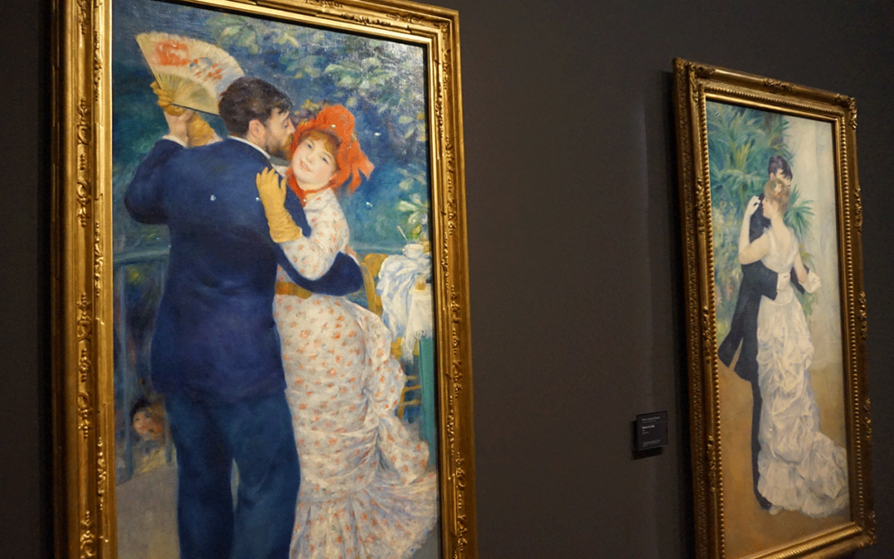 A alegre pintura de Renoir nos bailes de Montmartre
