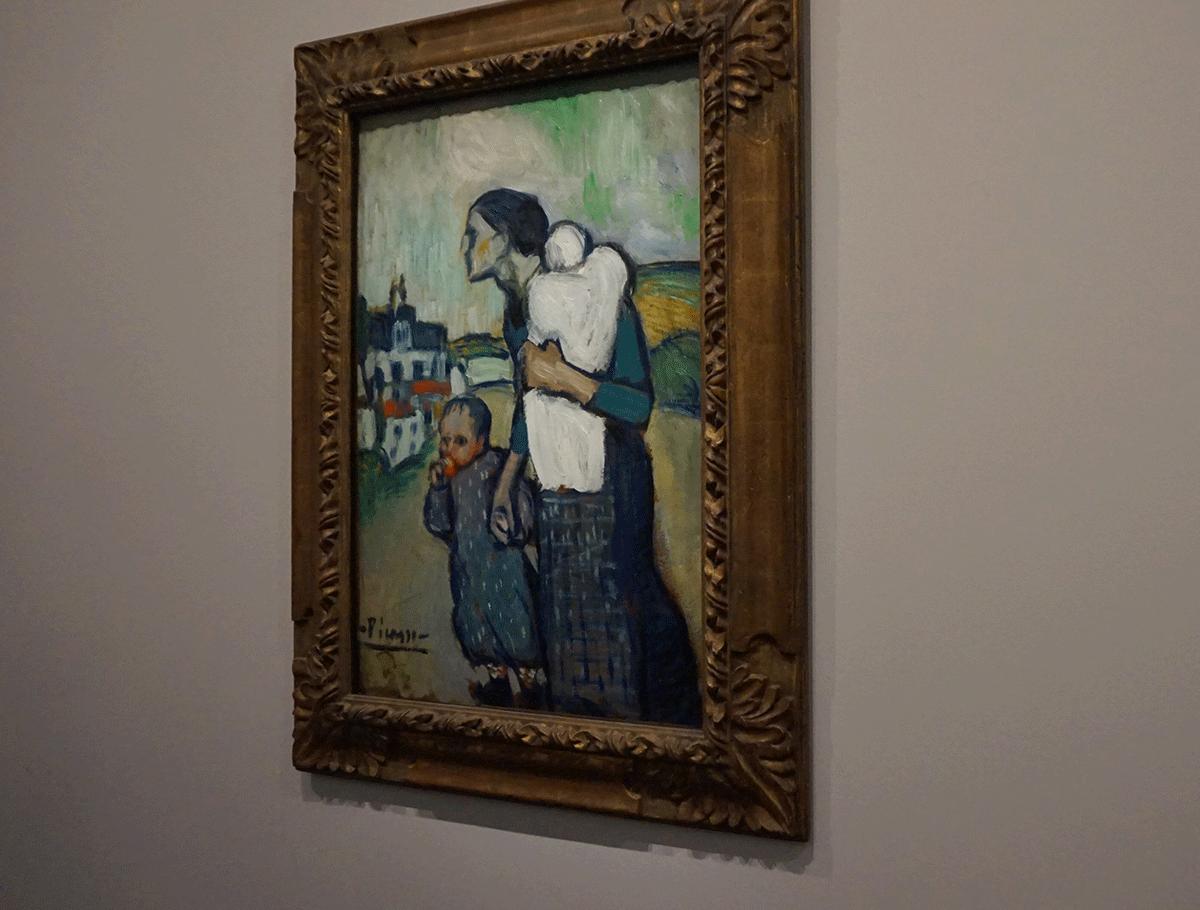 Pablo Picasso exposição no Museu d'Orsay em Paris