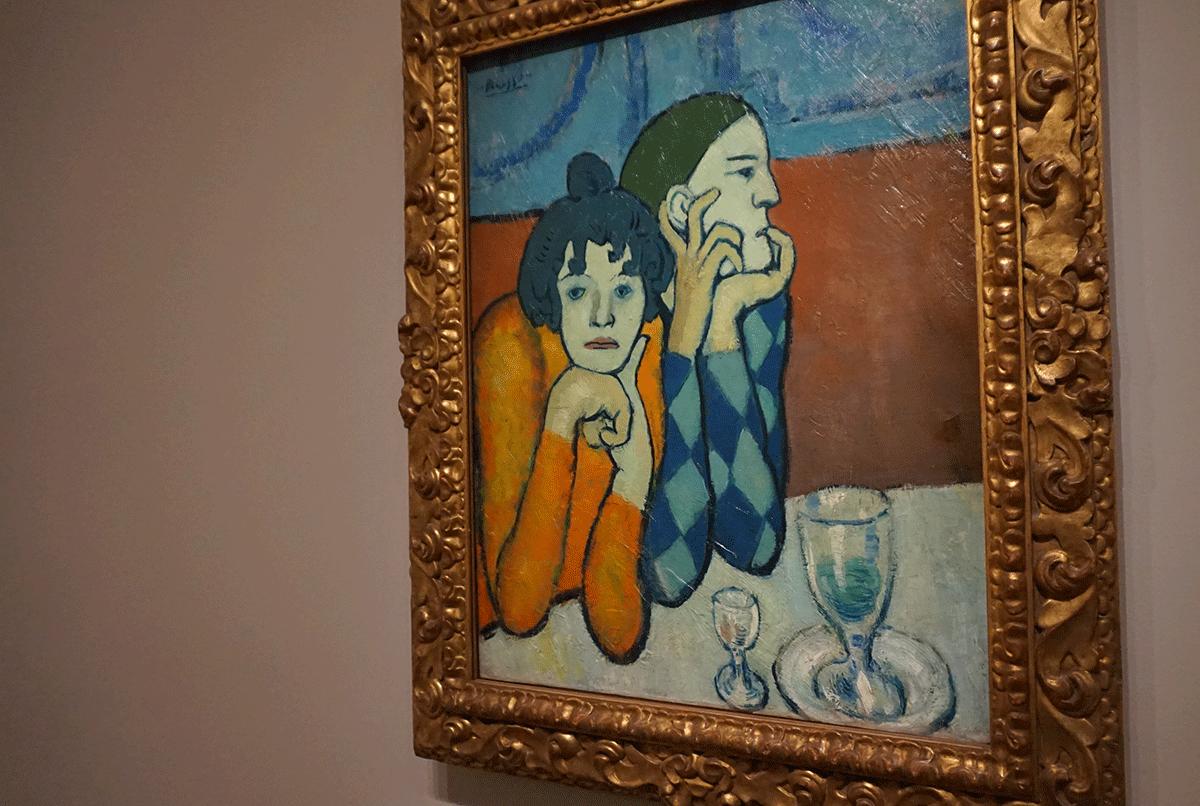 Pablo Picasso celebrado em Paris